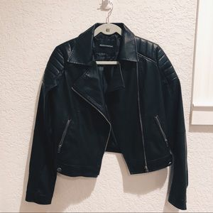 Brandy Melville Sunny Leather Jacket